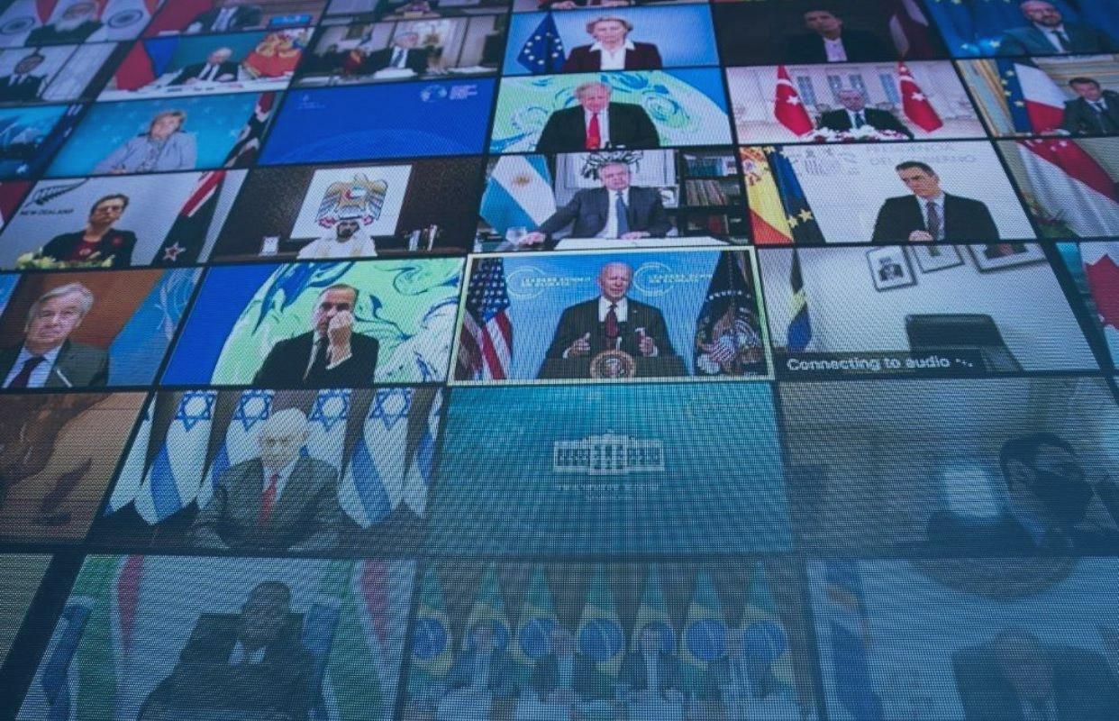 You are currently viewing Cúpula de líderes sobre o clima