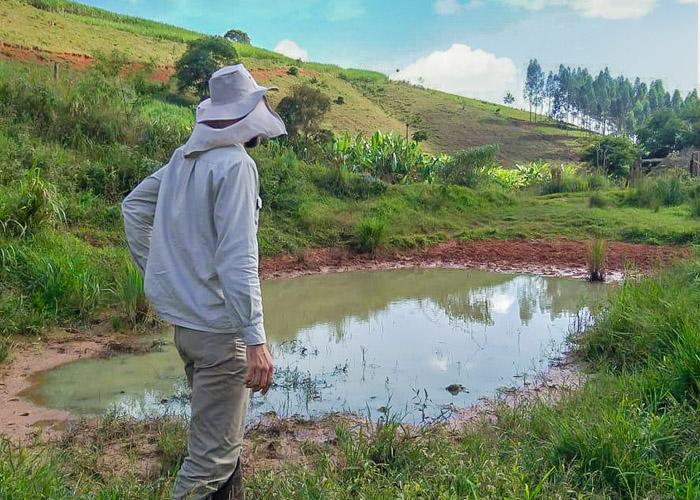You are currently viewing Plantando água nas propriedades rurais